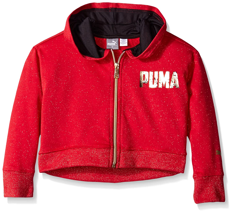 PUMA Girls Zip Hoodie