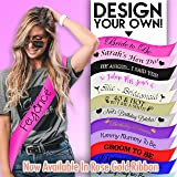 Brand New Personalised Sashes - Perfect for a Birthday, Hen Party, Stag Do, Baby Shower or Any Occasion!