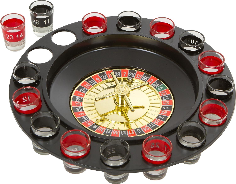 EZ Drinker shot spinning roulette Game set (pezzi) EZ-ROULETTE
