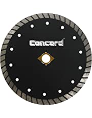 Concord Blades CTW070D10CP 7 Inch Continuous Wide Turbo Teeth Diamond Blade with Cooling Holes