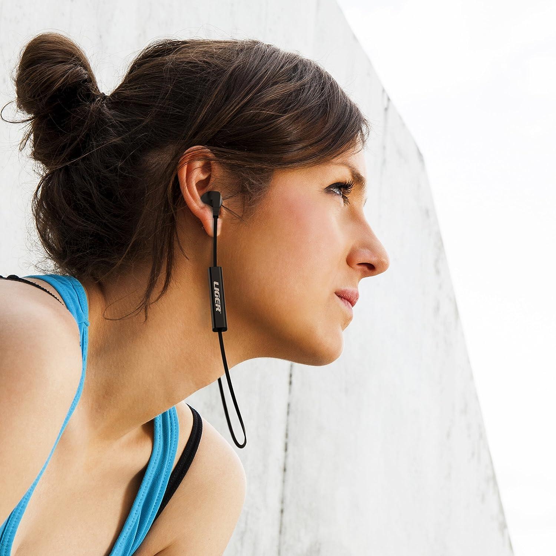 Auriculares de diadema legre dientes, Xs1 dientes inalámbrico Sport 4,1 antisudor, cancelación de ruido de auriculares con micrófono para llamadas manos ...