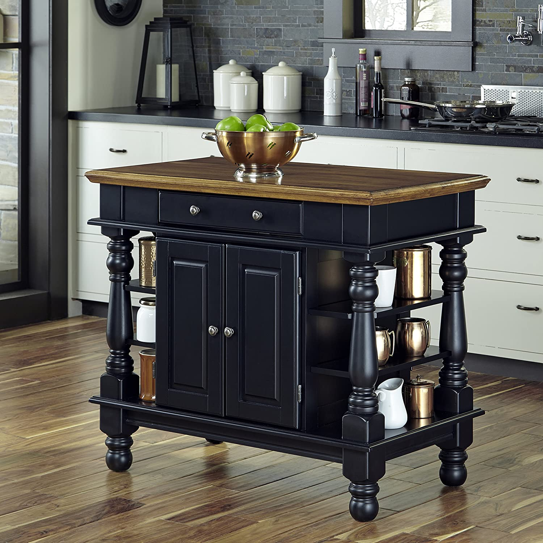 raw island kitchen black home styles americana