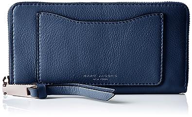 ca12a9d28f47f Marc Jacobs Women's Recruit Standard Continental Wallet, Dark Blue, One Size