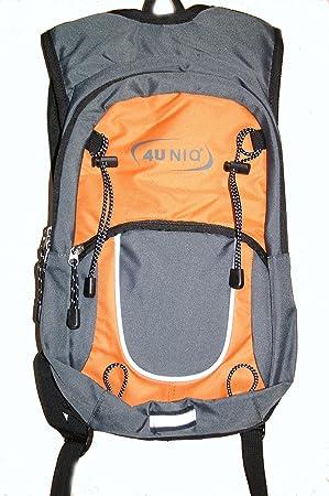 Mochila Nordic Walking, para senderismo, deportes, mochila de solo 300 g (Fijación para bastones de walking o senderismo): Amazon.es: Deportes y aire libre