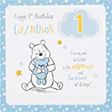 Great Grandson 1st 1 Today Happy Birthday Card With A Lovely Verse