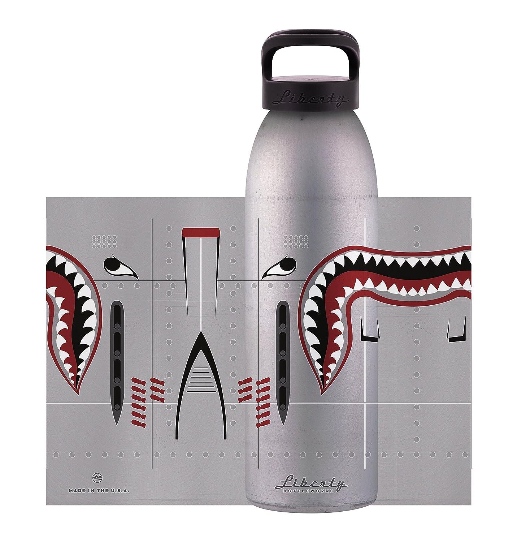 Liberty Bottleworks Hunter Silber Hunter Bottleworks Sport Wasser Flasche 32172c