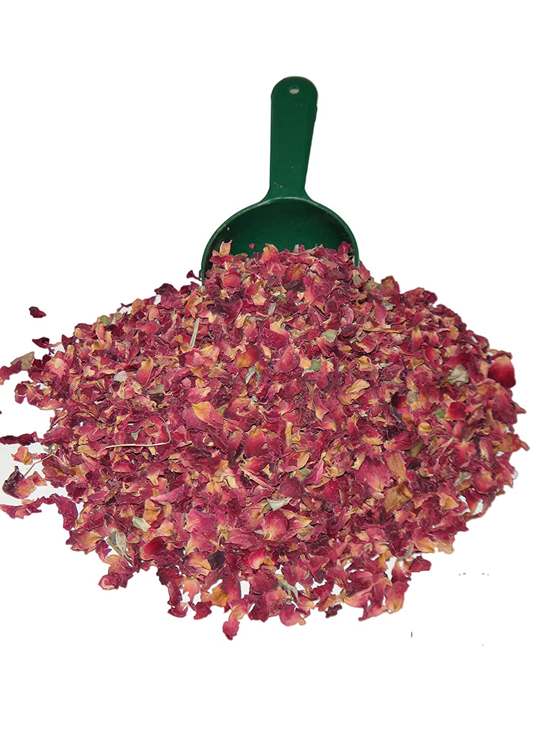 GodSpeed Premium Food/Culinary Grade A, Organic Dried Red Rose Buds And Petals 4 OZ. Bag