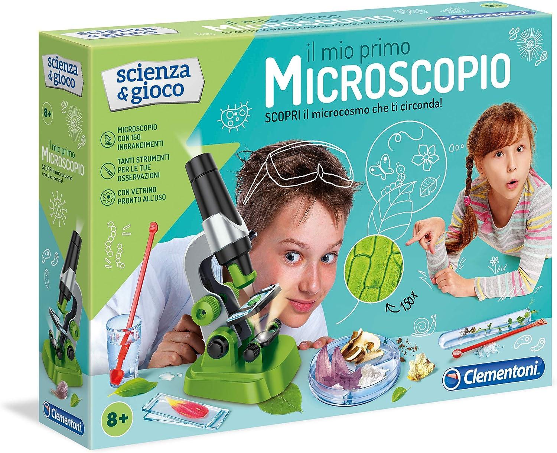 Clementoni 12794 - Mi Primer microscopio: Amazon.es: Juguetes y juegos