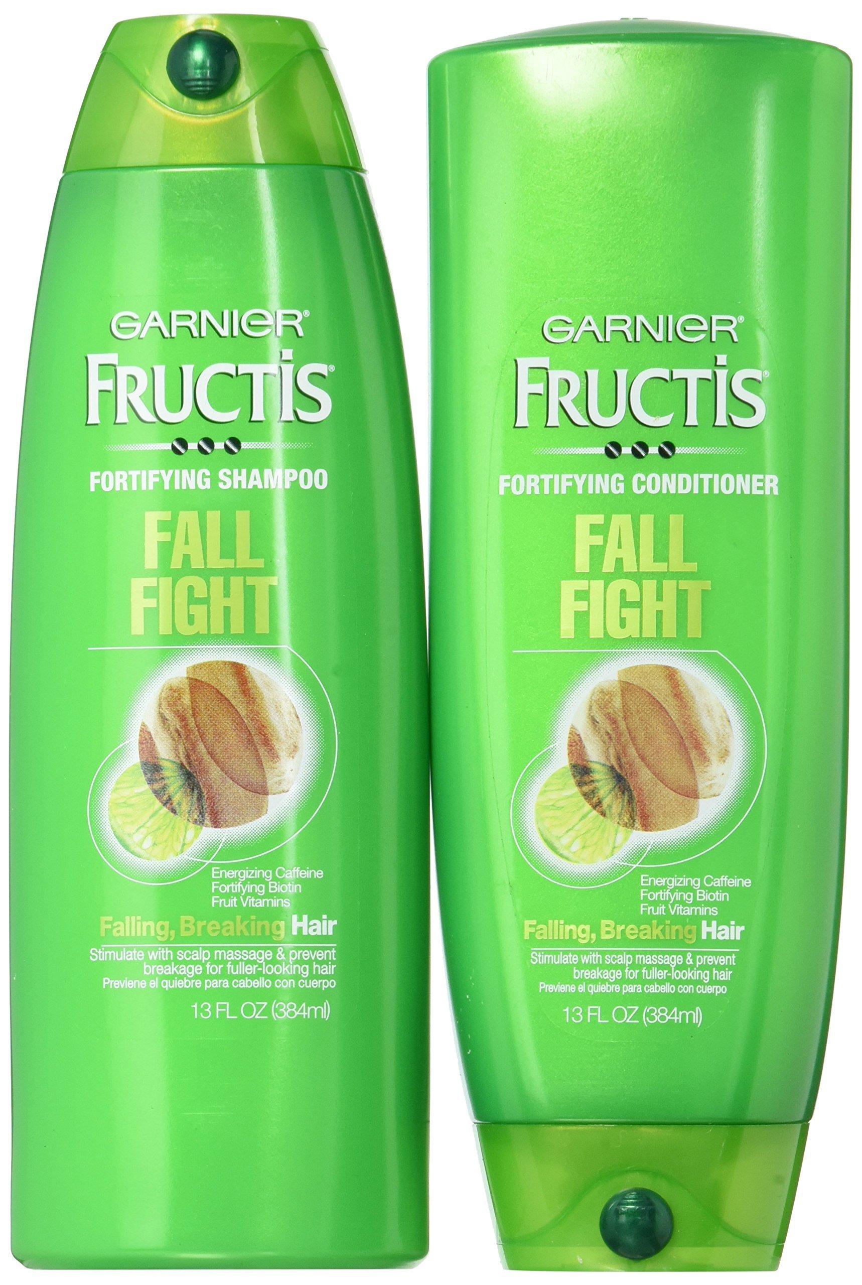 Amazon.com : Garnier Fructis Fall Fight Shampoo and ...