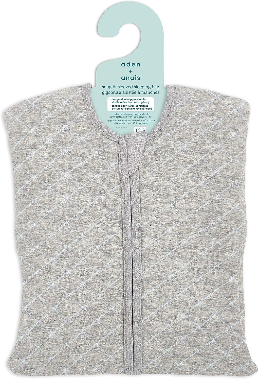 Cream with Mint Green Stitch anais Snug Fit Sleeping Bag 1.5 TOG aden 0-3 Months Newborn