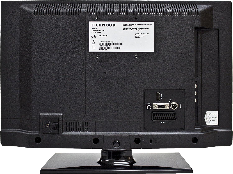 Techwood h20t10 a 51 cm (20 Pulgadas) televisor (HD Ready ...