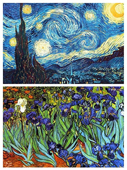 Image result for vincent van gogh starry night images