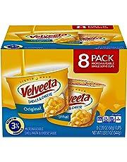 Velveeta Original Shells & Cheese Microwave Cups (19.3 oz Cups, Pack of 8)