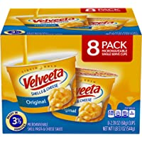 8-Count Kraft Velveeta Shells & Cheese Pasta (Original Single Serve Microwave Cups)
