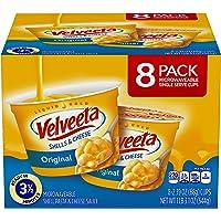 Velveeta, Original Microwavable Shells & Cheese Cups, 8-2.39 oz cups (total 1 Lb 3.1 oz/544g)