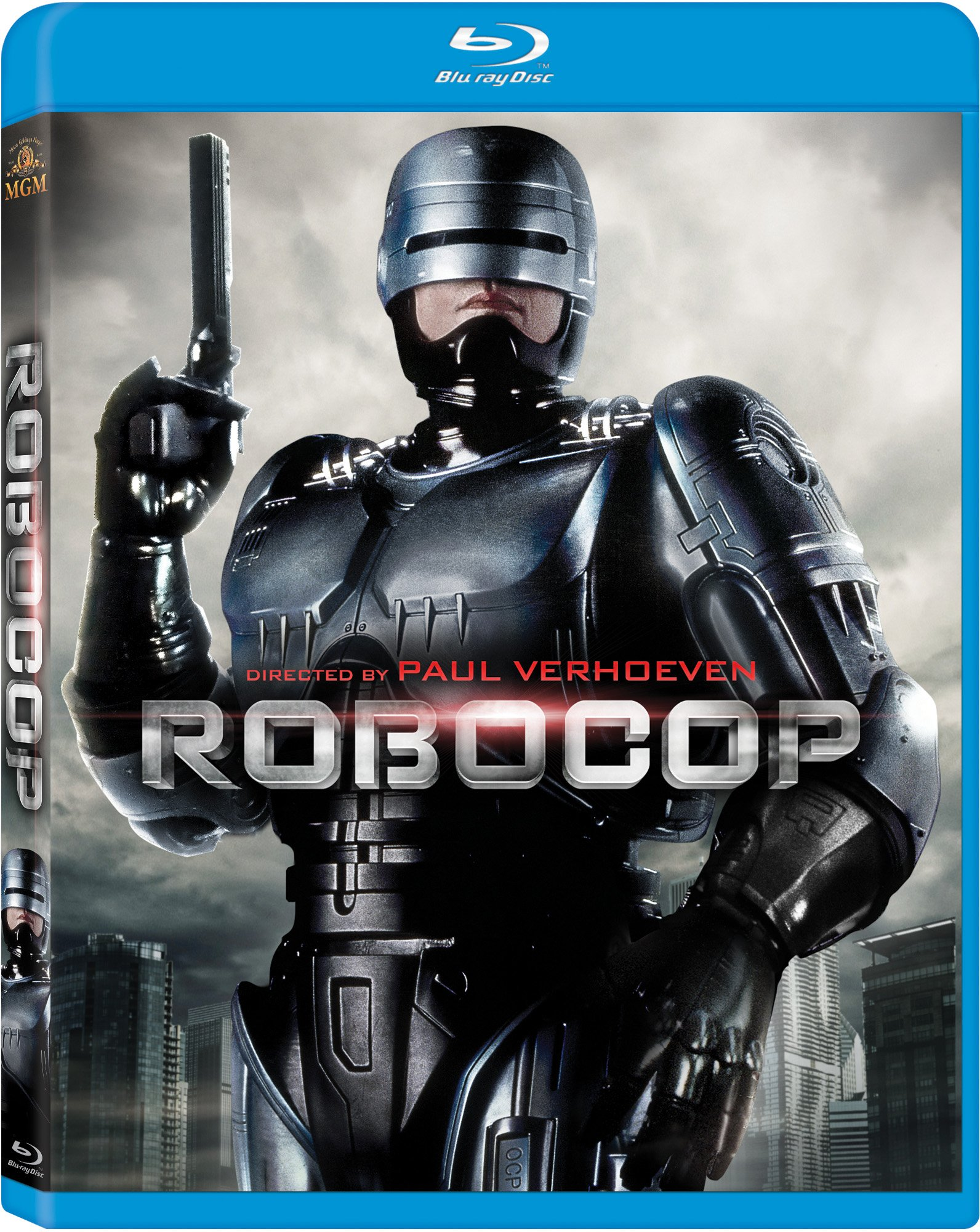 Blu-ray : RoboCop (Digital Theater System, AC-3, , Repackaged, Widescreen)
