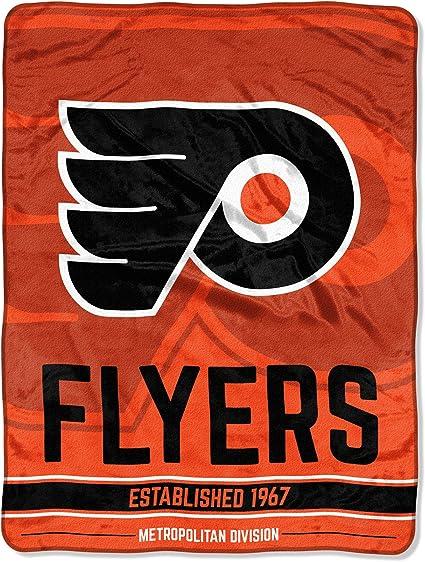 Officially Licensed NHL Break Away Micro Raschel Throw Blanket Multi Color