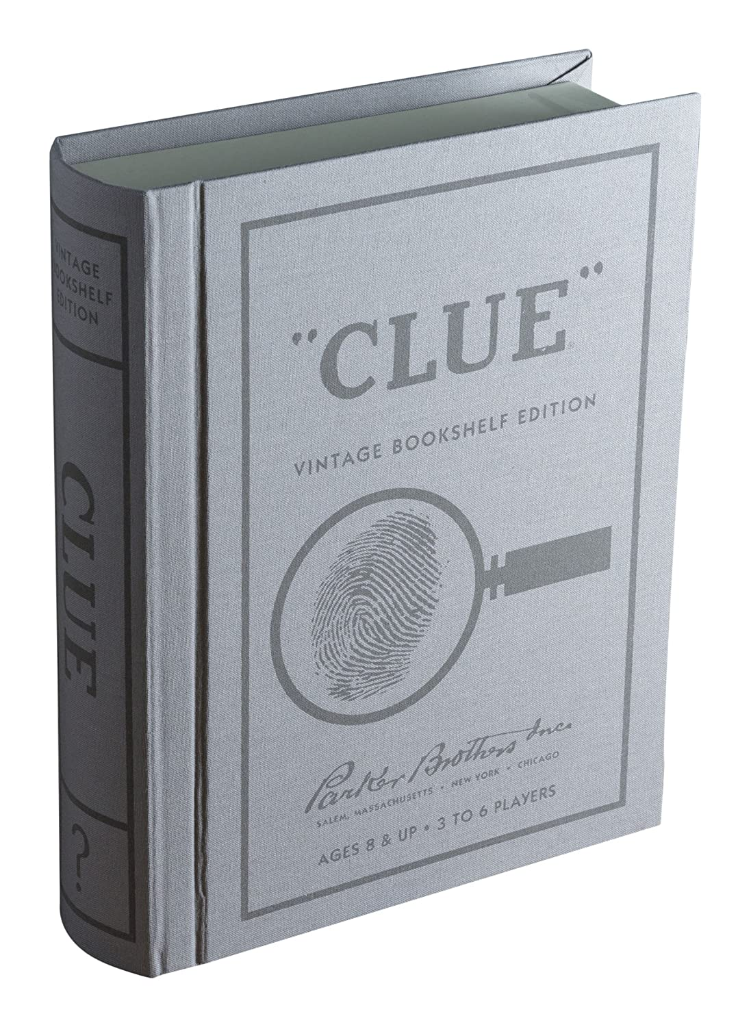 Clue Linen Book Vintage Edition Board Game by Winning Solutions