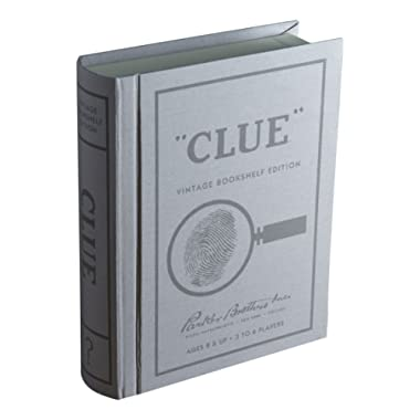 Clue Linen Book Vintage Edition Board Game