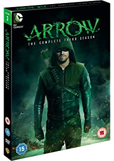 Arrow - Season 1 [DVD] [2013]: Amazon co uk: Stephen Amell
