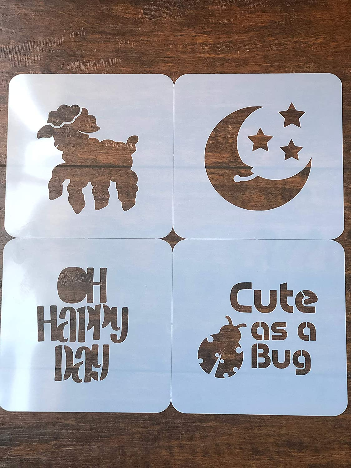 Stencils for baby shower by Baby Shower Stencils stencils for Fabric Markers I Baby Shower Games I Baby Bodysuit Onesie Stencil I Baby Shower kit I Stencils for Fabric Paint I