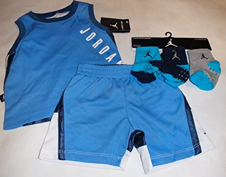 fb823081001e Image Unavailable. Image not available for. Color  Nike Air Jordan Baby Tank -Top   Short ...