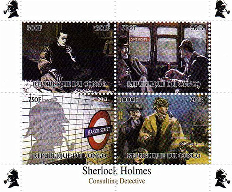 Sellos de Sherlock Holmes de la filatelia: Amazon.es: Electrónica