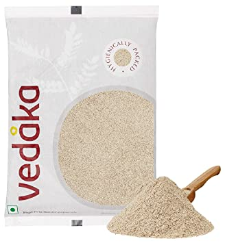 Amazon Brand - Vedaka Ragi Flour (Nachni Atta), 1 kg