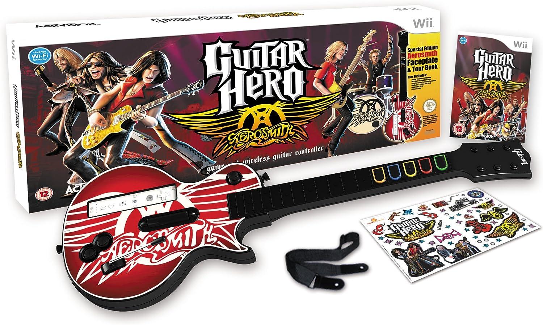 Guitar Hero: Aerosmith - Guitar Bundle (Wii) [Importación Inglesa ...