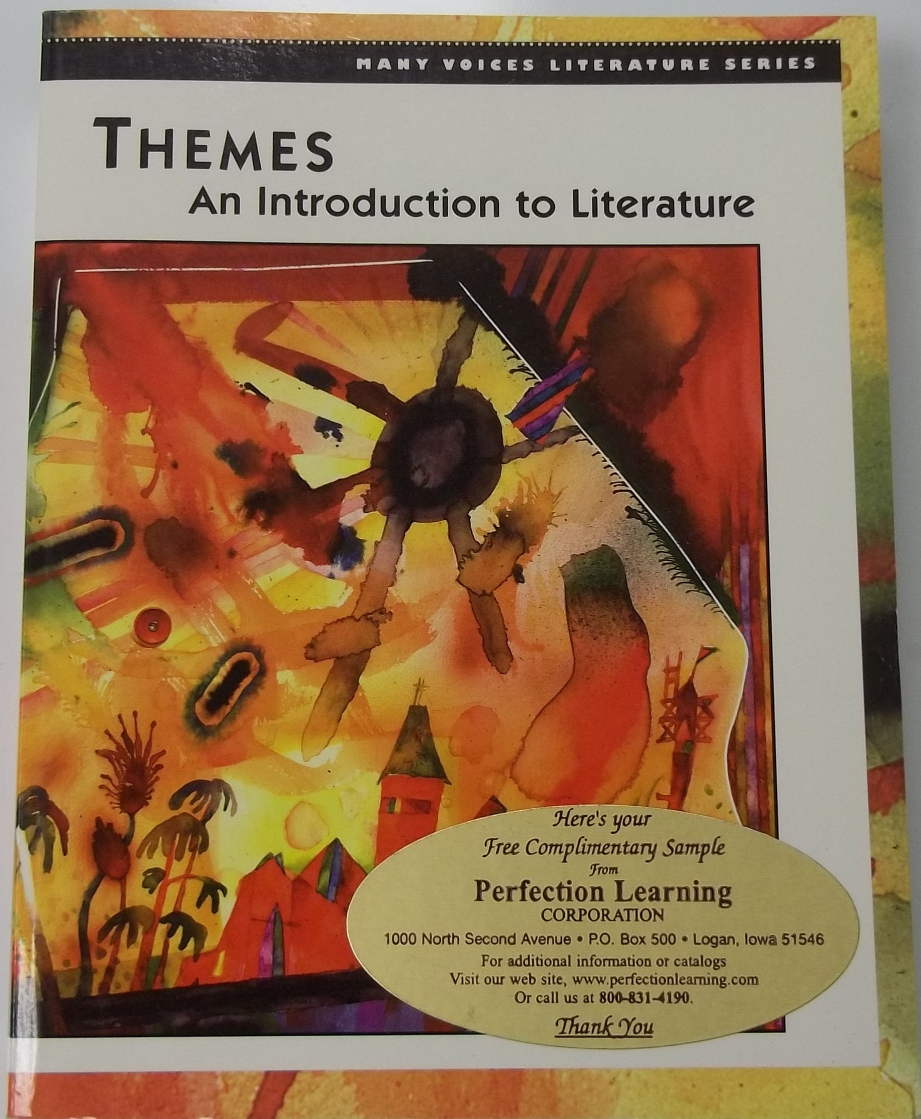 Read Online Themes: An Introduction to Literature (Many Voices Literature) ebook