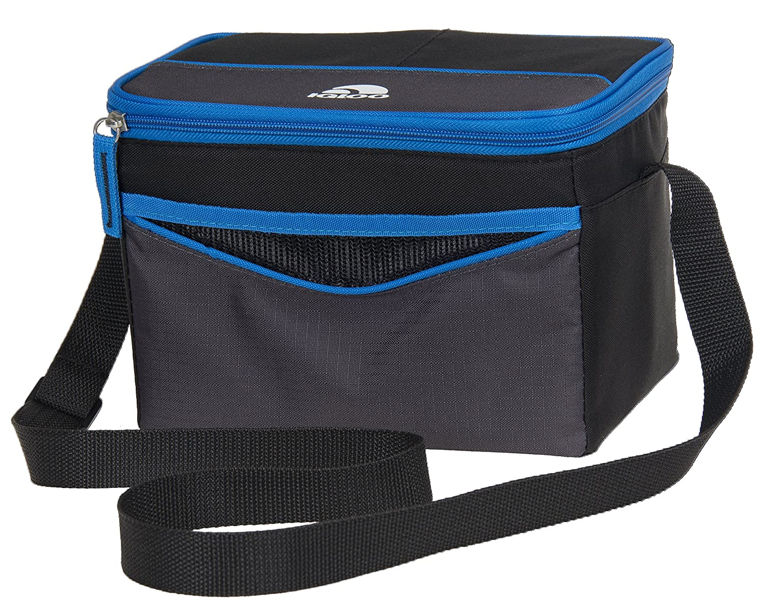 Igloo 62439 Collapse & Cool 6 Tech Basic, Black/Blue, 6 Cans