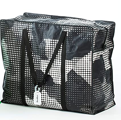d930e601d8 Homeleave Extra Large Oversized Heavy Duty Zippered Laundry Bags – For  Shopping Storage Moving and More