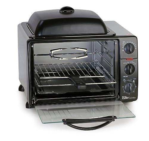 Elite Cuisine ERO-2008S Countertop Toaster Oven
