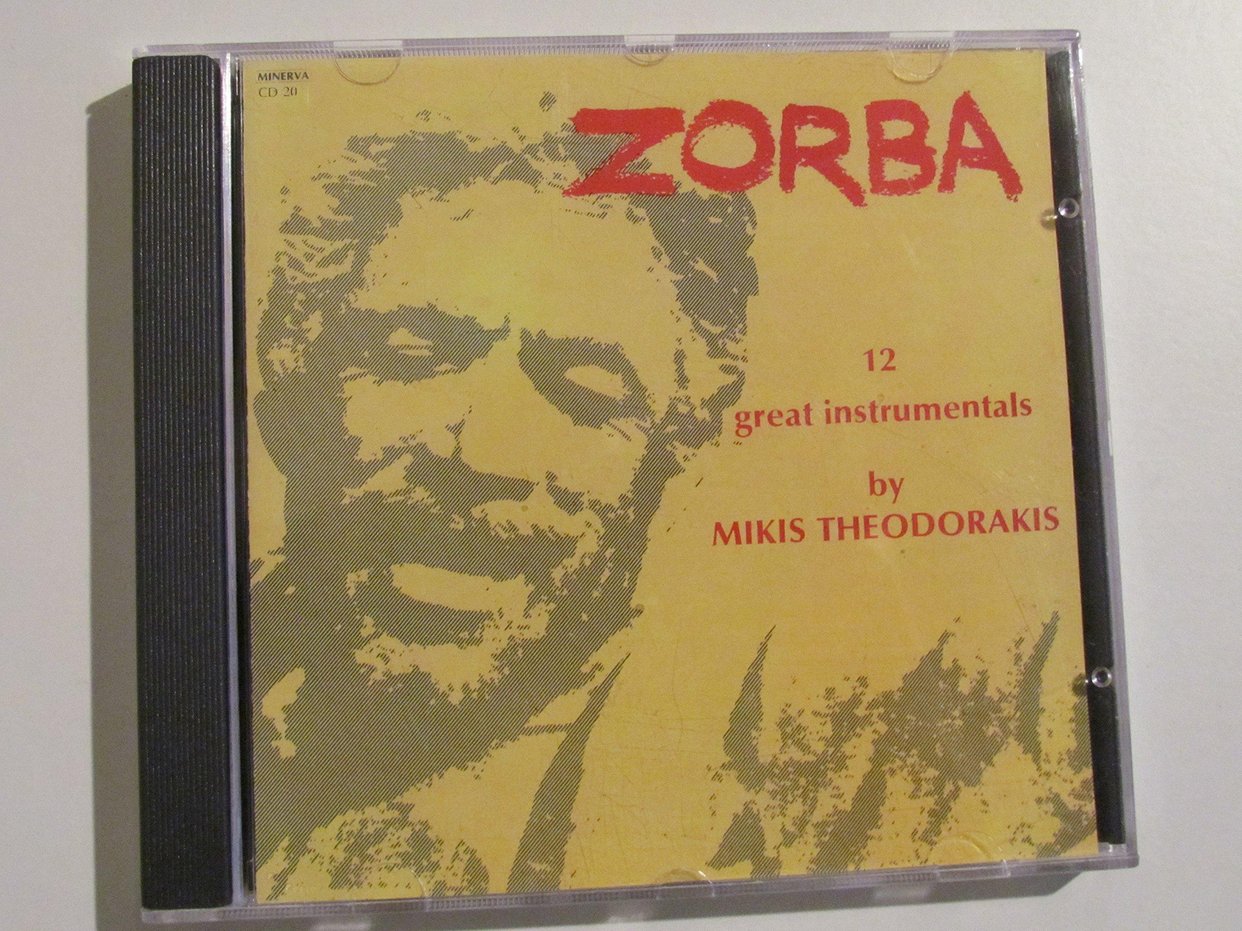Zorba 12 Great Instrumentals By Mikis Theodorakis 1989 Cd Audio CD 1900