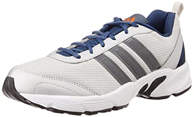 ... get adidas mens albis 1.0 m silver grey blue and orange running shoes 7  1ad60 0188d d917cd973