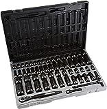 "Grey Pneumatic 81659CRD 3/8"" Drive 59pc Standard/Deep Length Fractional and Metric Duo-Socket Set - 6 P"