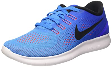 NIKE Womens Free RN Running Shoes Blue Glow/Racer Blue 831509-404 Size 8