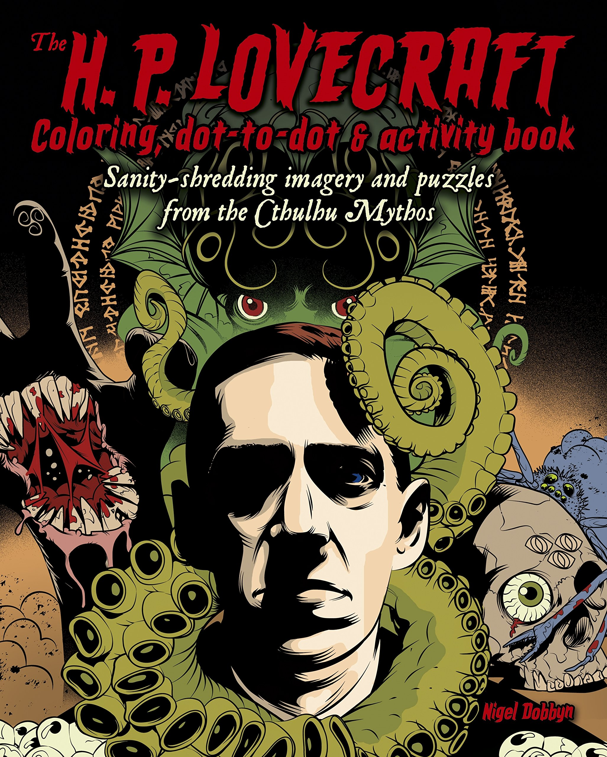Amazon.com: The H. P. Lovecraft Coloring, Dot-to-Dot & Activity Book ...
