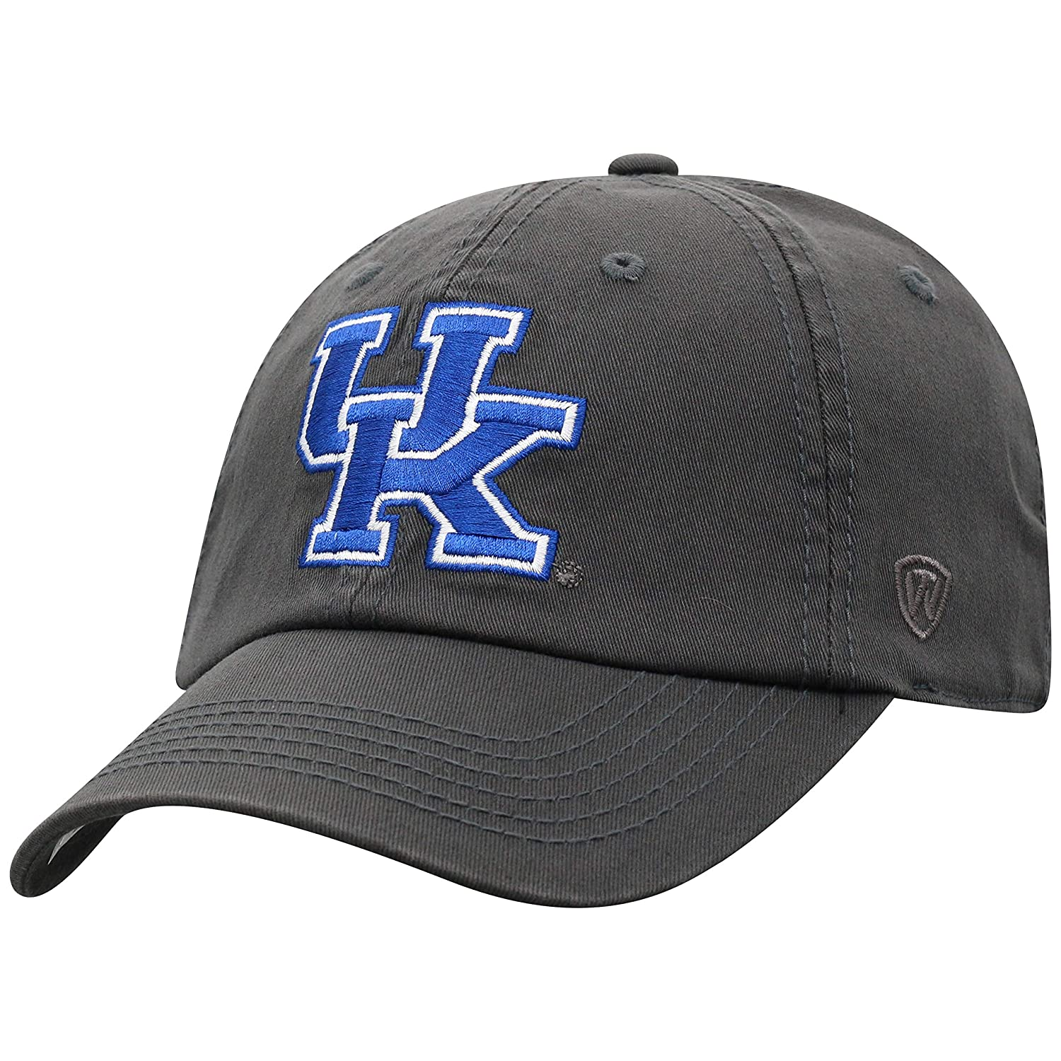 Amazon.com   Top of the World NCAA Kentucky Wildcats Men s Fitted Relaxed  Fit Charcoal Icon Hat b0aed5005ed