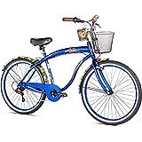 Margaritaville Coast Is Clear Men's Beach Cruiser Bike, 26-Inch