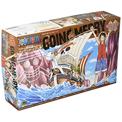 ONE PIECE Grand Ship Collection Going Merry Plastic Model: Toys & Games