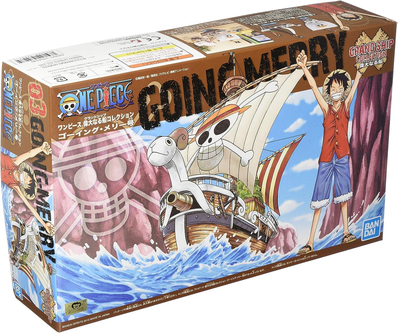 Bandai one piece Grand Schiff Sammlung Going Merry Plastik Modell-Bausatz Japan