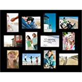 Amazon Com Black 21 Opening Collage Frame