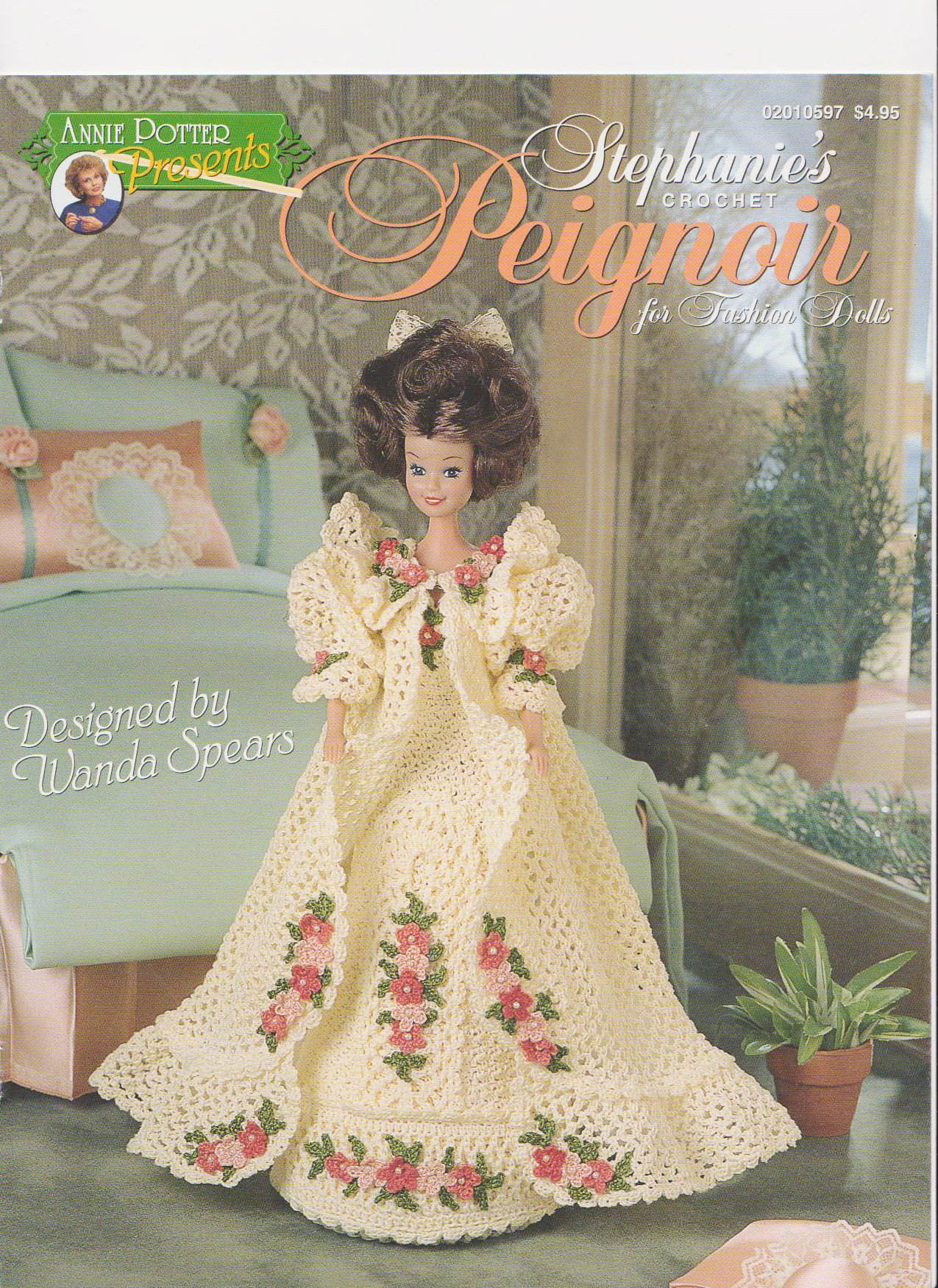Annie Potter Presents Stephanies Crochet Peignoir For Fashion