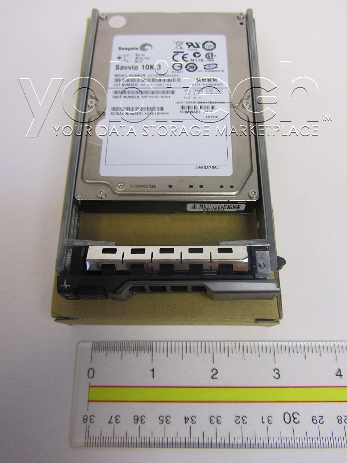 """Dell Compatible 900GB 10K SAS 2.5"""" HD -Mfg # 342-5541 (Comes with Drive and Tray)"""