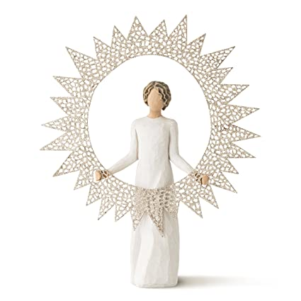 Starlight Willow Tree Angel Tree Topper Figurine best Christmas tree toppers