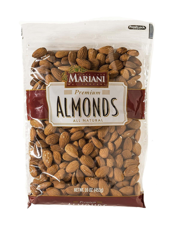 Mariani Nut Company Whole Almonds Laydown Ziplock, 16.0 oz