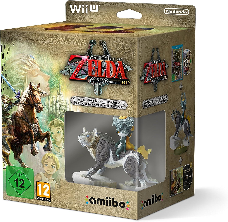 The Legend Of Zelda: Twilight Princess + amiibo Wolf Link + CD ...