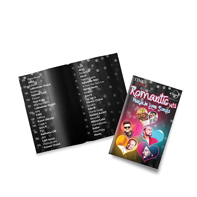 Music Card: ROMANTIC HITS - Punjabi Love Songs (320 kbps MP3 Audio) (4 GB)