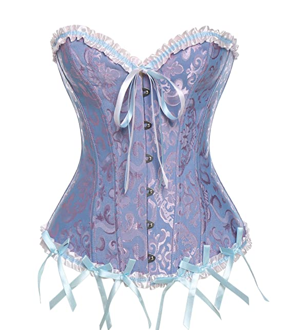 Vintage Moly Mujer Overbust corset De Vestir Corpiños Miss Corsé VpUzSqM